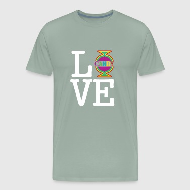 I love Candy for Friends and Familie gift idea - Men's Premium T-Shirt