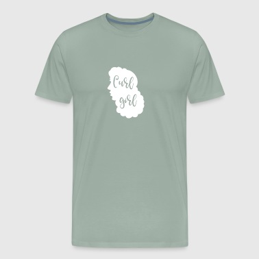 Curly Hair Curl Girl - Men's Premium T-Shirt