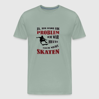 Skating skate love gift funny quote - Men's Premium T-Shirt