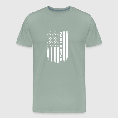 Proud Nurse of America - USA NURSE TSHIRT - Men's Premium T-Shirt