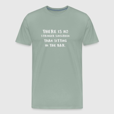 Drinking Sitting in the Bar Sunburn - Men's Premium T-Shirt