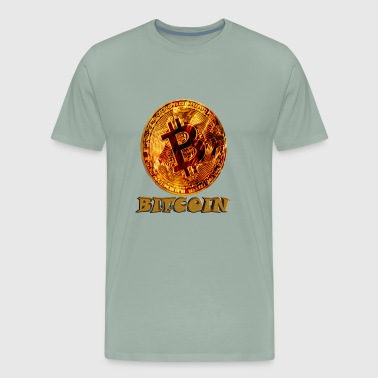 bitcoin3 - Men's Premium T-Shirt