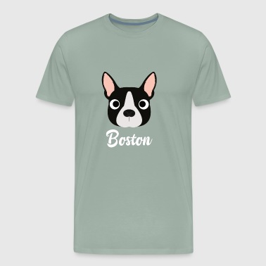 Boston - Boston Bull Terrier - Men's Premium T-Shirt