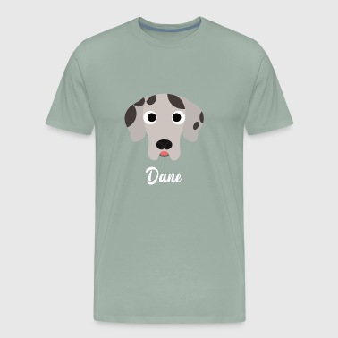 Dane - Great Dane - Men's Premium T-Shirt