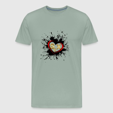 Love sex - Men's Premium T-Shirt