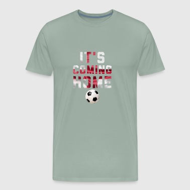 It's Coming Home Football T-Shirt England - Men's Premium T-Shirt