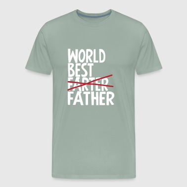 World best Father - Men's Premium T-Shirt