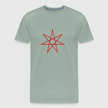 Otherkin Seven Pointed Star - Men's Premium T-Shirt