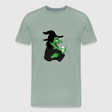 Funny witch - Men's Premium T-Shirt