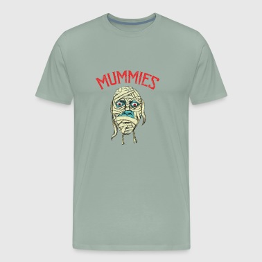 Mummies Halloween - Men's Premium T-Shirt