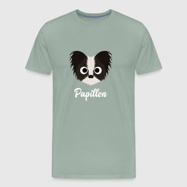 Papillon - Papillon Dog - Men's Premium T-Shirt