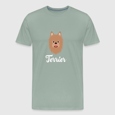 Australian Terrier - Men's Premium T-Shirt