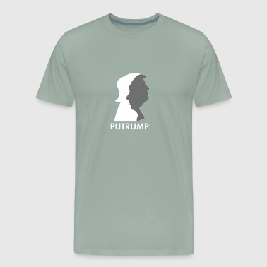 Anti Putin Putrump Putramp, Putin and Trump Putin is Trump - Men's Premium T-Shirt