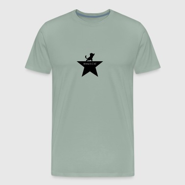 Hamilcat The Musical Funny Parody Hamilton - Men's Premium T-Shirt