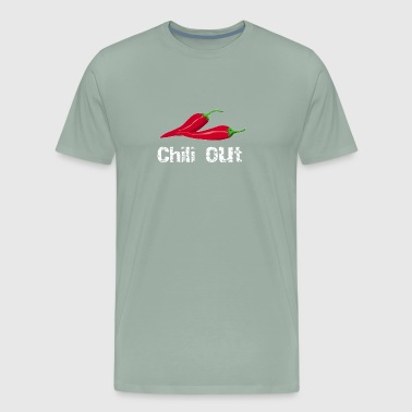 Foodie Chilli Out Chilli Pepper Copy - Men's Premium T-Shirt