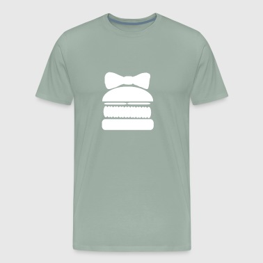 Gender Reveal Girl Burger Team Girl - Men's Premium T-Shirt