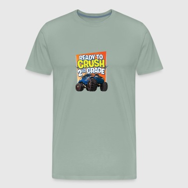 2nd Grade First Day Of School Monster Truck - Men's Premium T-Shirt
