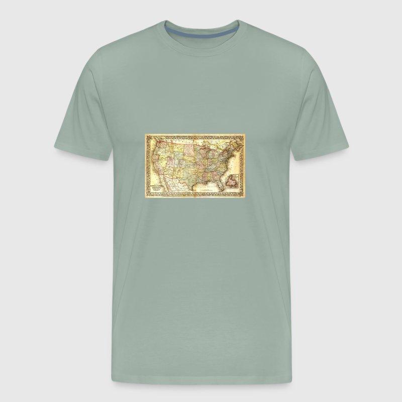 United States map (ancient) by DeezShirtz24   Spreadshirt
