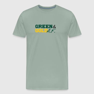 Green and Gold AF - Men's Premium T-Shirt