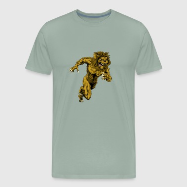 Man lion - Men's Premium T-Shirt