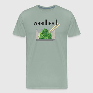 weedhead. (seaweed salad) - Men's Premium T-Shirt