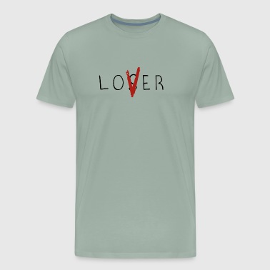 LoVer Loser - Men's Premium T-Shirt