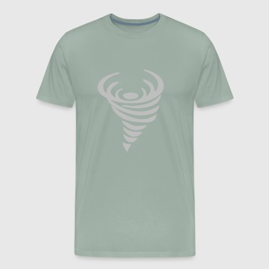 tornado storm design - Men's Premium T-Shirt