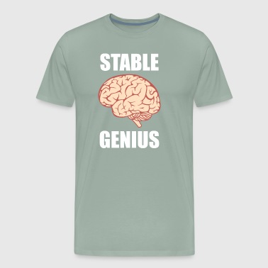 Genius Stable Genius - Men's Premium T-Shirt