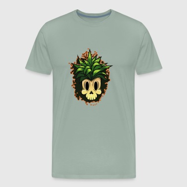 pineapple cartoon - Men's Premium T-Shirt