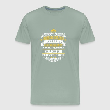SOLICITOR - Men's Premium T-Shirt