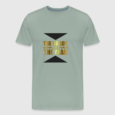 The Daddy of the Year Shirt - Gift - Men's Premium T-Shirt