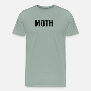 Motherly Love Moth Funny Halloween Costume Sarcastic Meme Couple - Men's Premium T-Shirt