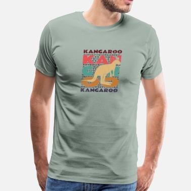 Bounce Kangaroo - Men's Premium T-Shirt
