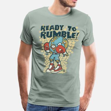 Ready Meal Ready to rumble - Men's Premium T-Shirt