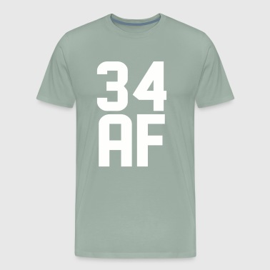 34 AF Years Old - Men's Premium T-Shirt