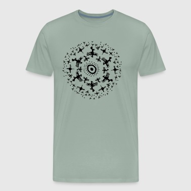 Birdy Talisman by Qenjo - Men's Premium T-Shirt