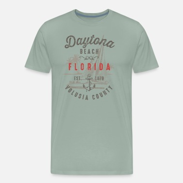 Daytona Beach Florida - Men's Premium T-Shirt