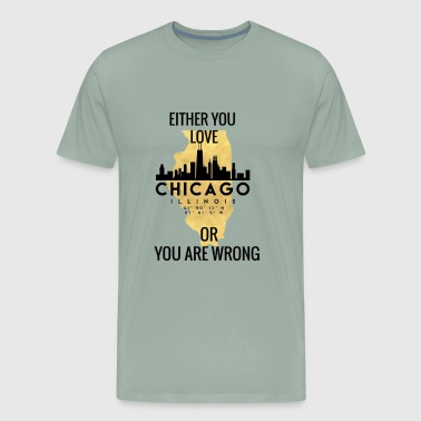 Chicago Love - Men's Premium T-Shirt