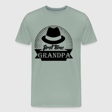 First Time Grandpa Shirt - Men's Premium T-Shirt