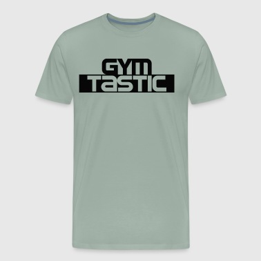 Gymtastic II - Chest - Black - Gymwear - Men's Premium T-Shirt