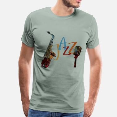 Hardbop Jazz - Men's Premium T-Shirt