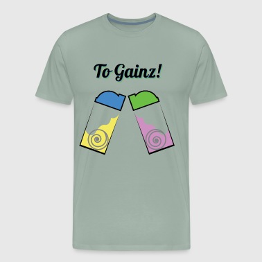 To Gainz! - Men's Premium T-Shirt