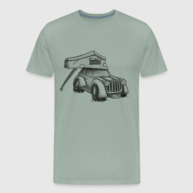 Roof-Top-Tent Camping Car Truck Vacation Gift - Men's Premium T-Shirt