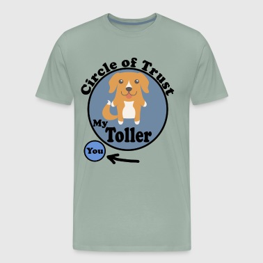 Circle Of Trust Cute Toller - Men's Premium T-Shirt