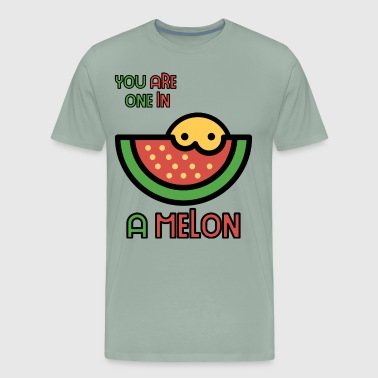 You Are One In A Melon Super Cute Melon Gift Idea - Men's Premium T-Shirt