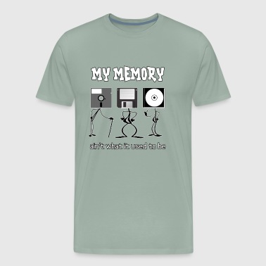 Terrible My Memory Ain't What it Used to Be - Men's Premium T-Shirt