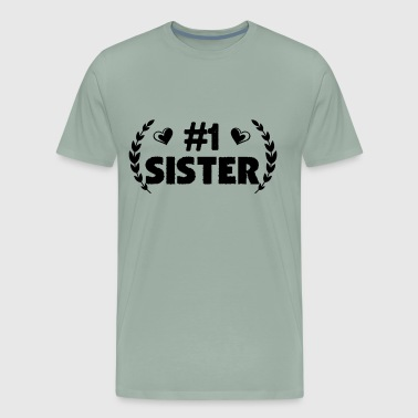 Number One Sister Shirt - Men's Premium T-Shirt