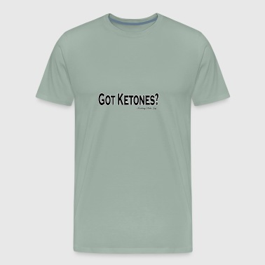 Finding Keto Joy Tshirt logo design 6 may 28 GOT K - Men's Premium T-Shirt