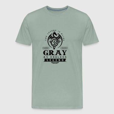 GRAY - Men's Premium T-Shirt
