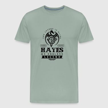 HAYES - Men's Premium T-Shirt
